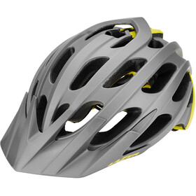 Lazer Magma+ Fietshelm, matte grey-yellow